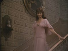 "I always thought that this ""Ashes of Roses"" dress was so pretty in the miniseries, The Thorn Birds."