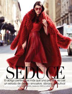 street style shoot1 Djamila Del Pino Hits the Streets for Vogue Mexico by Elena Bofill