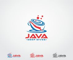 Logo for Java Deep Dives Training Website and R... Serious, Modern Logo Design by zanto