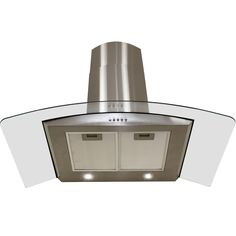 "29.4"" Convertible Wall Mount Range Hood in Stainless Steel"