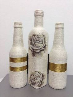 """Képtalálat a következőre: """"garrafas decoradas"""""""