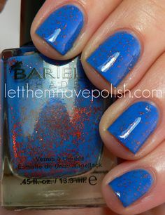 Barielle - Falling Star, i just love orange and blue together in a polish!