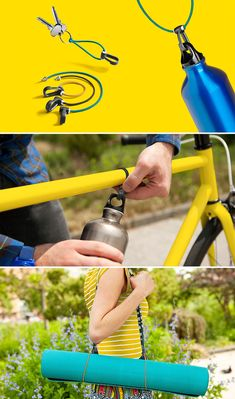 Stretchy, versatile carabiners to add functionality without adding bulk. | 25 Cheap Products That'll Actually Improve Your Life