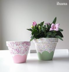 Koristele kukkaruukkuja Planter Pots