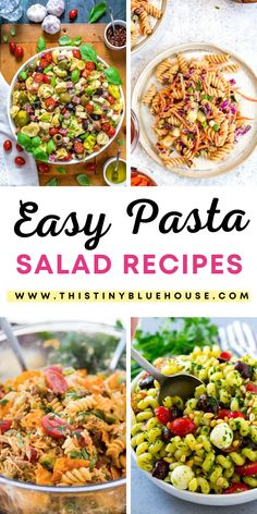 cheap, easy and delicious best summer pasta salad recipes. Perfect as a quick lunch or easy weeknight side dish. Quick Lunch Recipes, Easy Holiday Recipes, Healthy Pasta Recipes, Healthy Pastas, Chicken Recipes, Tofu Recipes, Oven Recipes, Avocado Recipes, Noodle Recipes