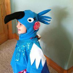Rio inspired Halloween costume. Hand made.