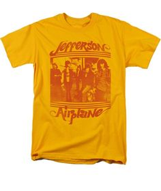 Jefferson Airplane Band Group Photo Licensed Tee Shirt Adult Sizes S-3XL #Genric #ShortSleeve