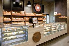 MJ Bakery / Interior design & branding by Victoria Scharrer, via Behance