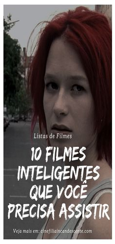 10 filmes inteligentes que você precisa assistir. #filmes Series Movies, Film Movie, Movies And Tv Shows, Bon Film, Creepy Clown, About Time Movie, Movie List, Movie Theater, Movies To Watch