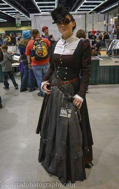Steampunk Cosplay at Comic-Con International