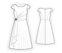 Kleid -Schnittmuster