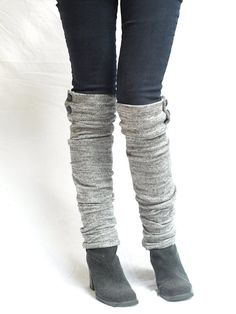 These are must haves. I love the button detail at the top it makes them different than leg warmers I have worn in the past