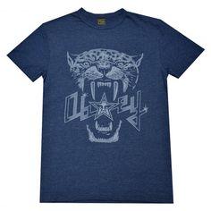OBEY Panthers tee-shirt heather dark navy tri-blend 39€ #obey #obeygiant…