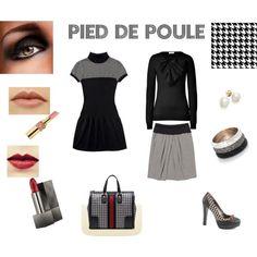 """Pied de poule"" by angyxxx on Polyvore"