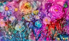 Alcohol Ink Artists: Drops, Drips, Dots and Doodling with Alcohol Inks