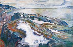 Edvard Munch | Winterlandschaft - Winter Landscape | 1915, © Albertina, Wien