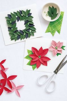 Find handmade Christmas card tutorials to create a DIY card for every person on your list this year! Diy Holiday Cards, Homemade Christmas Cards, Funny Christmas Cards, Xmas Cards, Diy Cards, Homemade Cards, Handmade Christmas, Holiday Crafts, Christmas Crafts