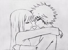 dibujo de chica anime con corazon  anime  Pinterest  Dibujos de