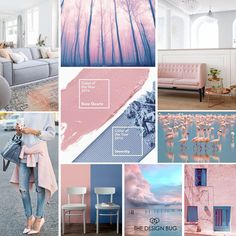 This year, for the first time in history the people at Pantone have given the title of Colour of the Year to two colours. A pastel palate of soft pink and tranquil blue, but more beautifully named Rose Quartz and Serenity and I think they are just gorgeous, particularly as a pair.   Read more at http://www.thedesignbug.ie/blog/2016colouroftheyear
