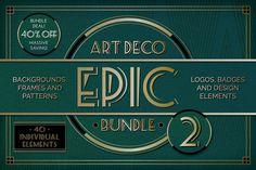 Epic Art Deco Bundle Volume 2 - Save 40 percent