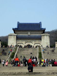 Dr. Sun Yat-sen's Mausoleum - Purple Mountain, Nanjing, China