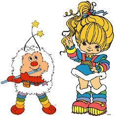 rainbow brite and twink DIY costumes!