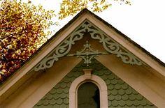 Victorian Gingerbread gable ornaments