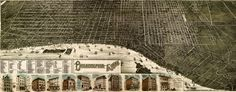 B Birdseye #Map of #Philadelphia (1885) #Philly
