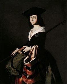 Francisco de Zurbaran, Santa Marina