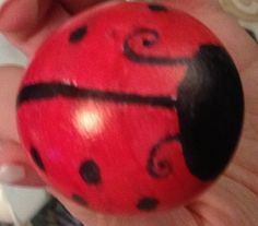 Cascarones - Ladybugs - Confetti / Party Eggs by BellasPrettyPartyEgg on Etsy, $8.00
