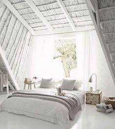 Makuuhuone, vino katto