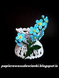 Znalezione obrazy dla zapytania quilling kwiaty łatwe