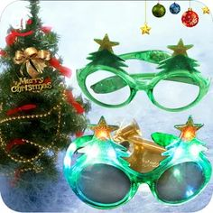Trustful Led Glasses Light Up Shades Flashing Rave Wedding Party Eyewear Luminous Glowing Night Shows Decors Activities Christmas Supply Evident Effect Apparel Accessories Men's Eyewear Frames