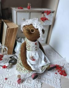 Teddy Bear Toys, Cute Stuffed Animals, Rabbit Toys, Funny Bunnies, Rowan, Art Dolls, Plush, Handmade Gifts, Collection