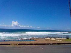 Uvongo -photo of the sea taken 26 Jan 2012
