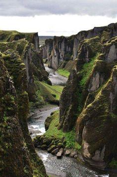 Fjađrárgljúfur, Iceland
