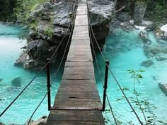 Soca River in Slovenia.planning to see this on our Roadtrip in Slovenia Places To Travel, Places To See, Travel Destinations, Dream Vacations, Vacation Spots, Slovenia Travel, Travel Goals, Where To Go, Travel Inspiration