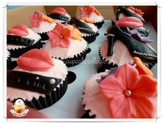'Fancy' range girly cupcakes