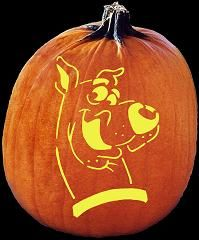 jack o'lantern patterns free | Scooby Doo Pumpkin Carving Pattern - Jack O Lantern Pumpkin Carving ... Bryson would love this one!!!