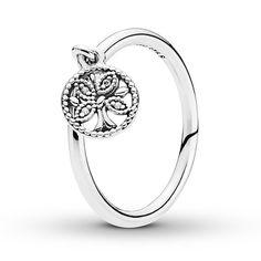 Pandora Jewelry OFF!>> Pandora Ring Tree of Life Sterling Silver Pandora Rings, Pandora Bracelets, Pandora Jewelry, Silver Bracelets, Silver Earrings, Gold Jewelry, Vintage Jewellery, Diamond Jewelry, Antique Jewelry