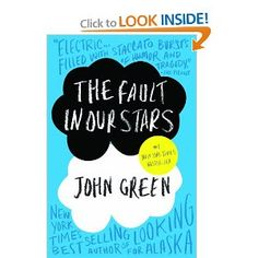 """One of my favorite authors! He writes """"teen fiction"""" but it's way better then that vampire stuff! Check out all of John Green's books!"""