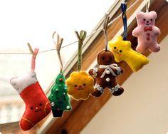 Christmas felt crafts   Special christmas felt ornament   Christmas crafts