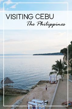 Visiting Cebu The Philippines. The things you need to do in Cebu - swim with whale sharks, enjoy the beaches, see the waterfalls and enjoy the jungle.