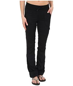 The North Face Aphrodite Pant for Women (LG X 32, TNF Black) * Click image to review more details.