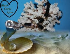 @BlackCoral4you Black Coral-Pearl-Sterling Silver / Coral Negro-Perla-Plata 925 http://blackcoral4you.wordpress.com/