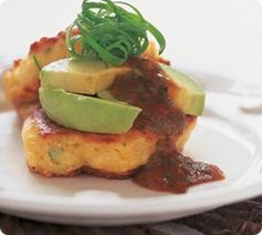 Annabel Langbein's scrumptious Corn and Feta Fritters are fabulous for a lazy late breakfast. www.annabel-langbein.com