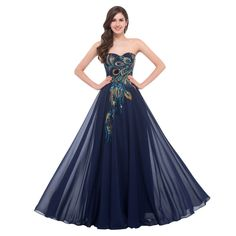 Be effective with this product Evening Dresses L... and stop doubting yourself, see it on Costbuys http://www.costbuys.com/products/evening-dresses-long-2016-for-wedding-occasion-dresses-plus-size-grace-karin-peacock-dress-elegant-formal-evening-gowns-6168?utm_campaign=social_autopilot&utm_source=pin&utm_medium=pin