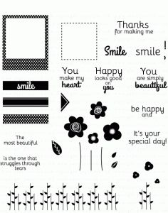 Just Smile Stamp Set