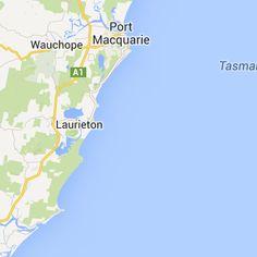Coates Hire Rally Australia 2013 - Google Maps