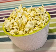 One of my all time favorite snack foods is popcorn! I'd eat it every day if I could! For the longest time I figured that to get the taste of movie theater Recipes Appetizers And Snacks, Quick Snacks, Snack Recipes, Cooking Recipes, Healthy Recipes, Desserts, Food Now, I Love Food, Movie Theatre Popcorn Recipe